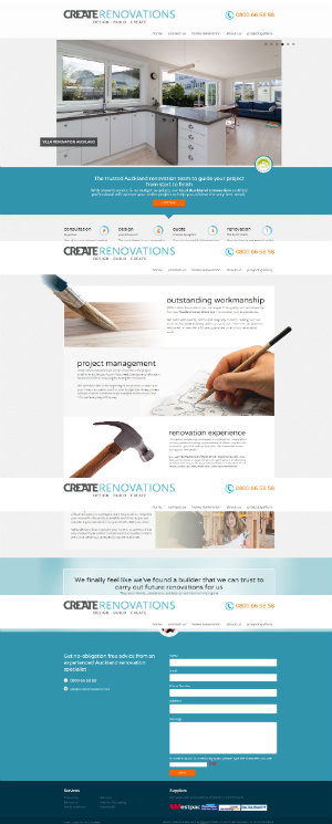 Zeald Web Design Create Renovate