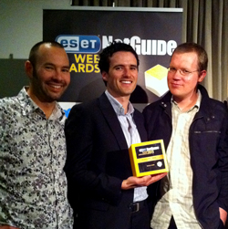 Zeald Net Guide Web Awards Winners 2011