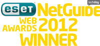 Zeald Netguide Web Awards 2012 Winner
