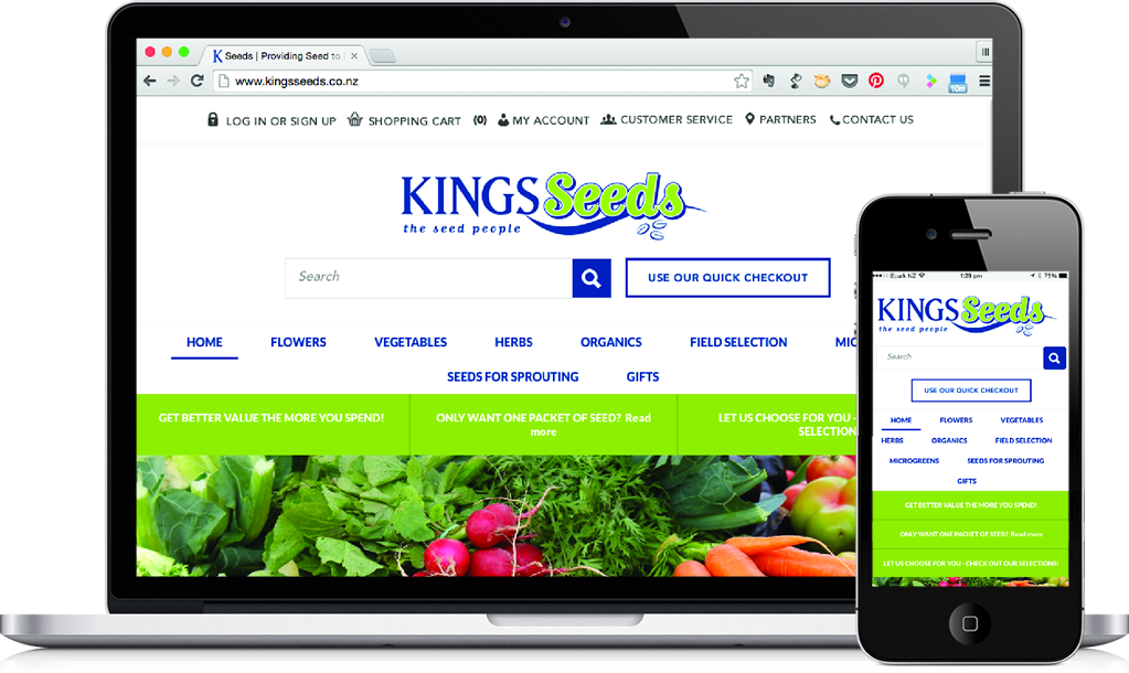 website kingseeds